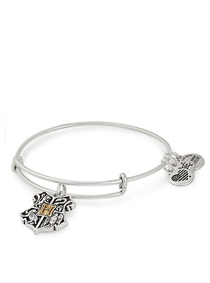 1f6301bb068412 Alex and Ani Harry Potter Deathly Hallows Bangle, Silver | McElhinneys