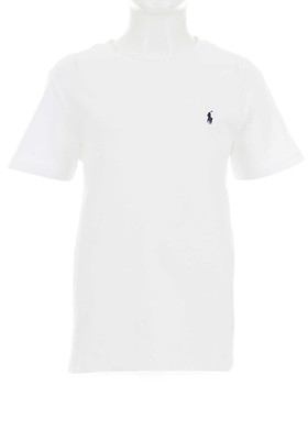 d42c9292b Ralph Lauren Boys Polo T-Shirt, White