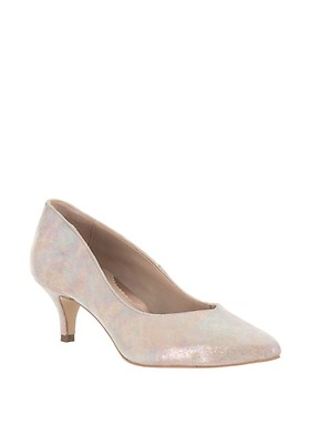 40ca2db17b90b Van Dal Nina Shimmer Low Court Shoes, Nude