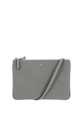 8ee9bcaa7 Ralph Lauren Carter Double Zip Cross Body Bag, Grey