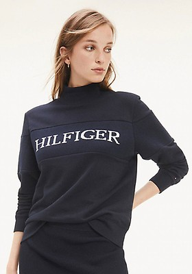 Tommy Hilfiger Women's T Shirt Blue Blue Navy One Size
