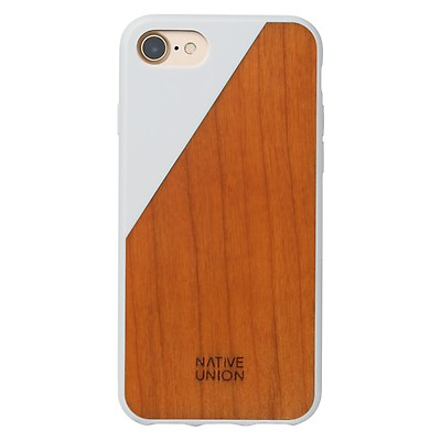 Clic Wooden Iphone 7 8 Case White