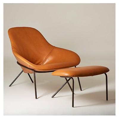 Sensational Lama Lounge Chair Leather Graphite The Conran Shop Beatyapartments Chair Design Images Beatyapartmentscom