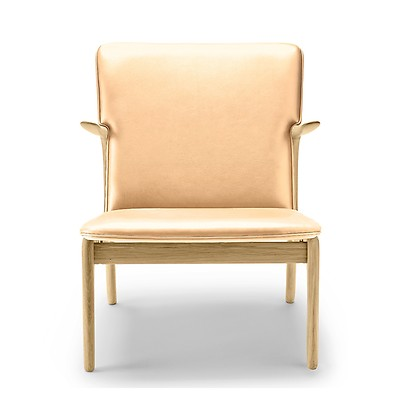 Ow124 Beak Chair Soaped Oak Sif Leather