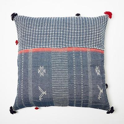 Bandini Rebari Cushion Cover Black 60cm X 60cm The Conran Shop