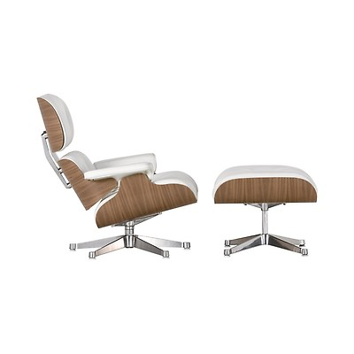 Prime Tall Eames Lounge Chair Ottoman White Leather White Lamtechconsult Wood Chair Design Ideas Lamtechconsultcom