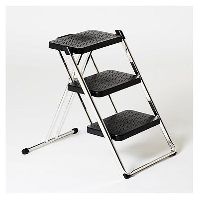 Lucano 2 Step Ladder Black - The Conran Shop