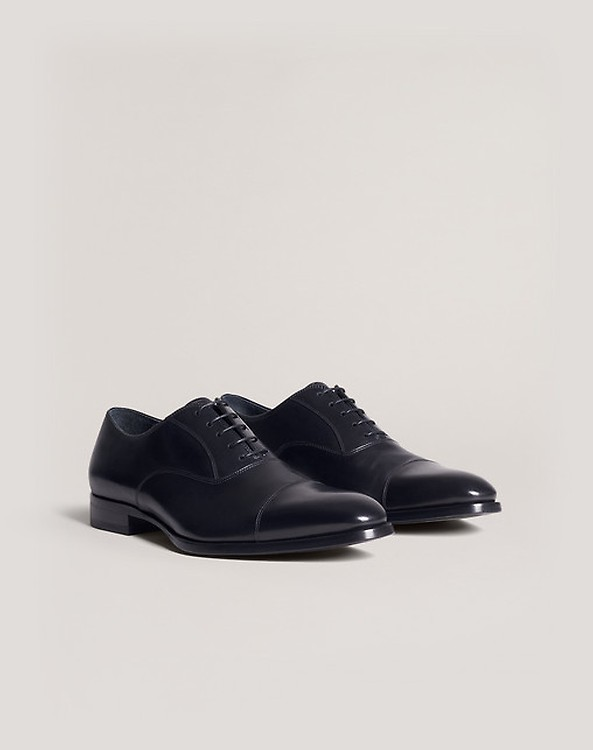 038c9bb2b752 Men's Black Duke Derby Shoe   dunhill UK Online Store
