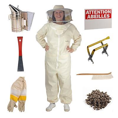 protection contre les abeilles N/° 0 Margot74 Combinaison de protection pour apiculture professionnelle pliable l. super /épaisse Comme sur limage