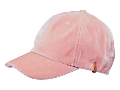 Cappello con visiera Barts da donna in velluto rosa 5a8f47f3e815