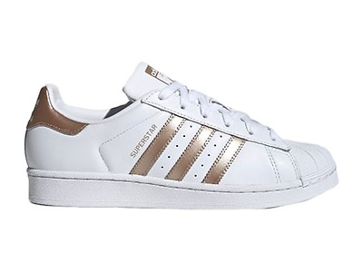 adidas superstar w scarpa bianco argento