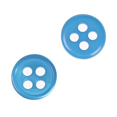 Choix de Diamètre 11mm ou 14mm Mercerie Couture I 80 x Boutons Basique 2 Trous
