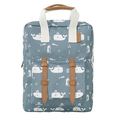 b54ca7c60b0 Backpack small 'Elephant Blue' - The Little Zebra