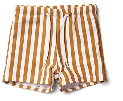 3affed32b2e Melvin mommy bag Stripe Mustard/Creme de la creme - The Little Zebra