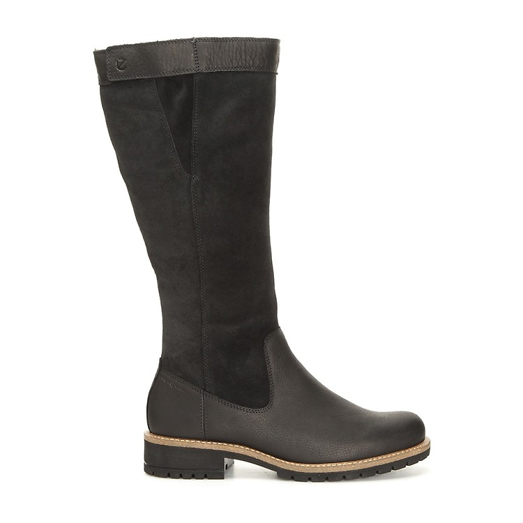 Comfortable ECCO Elaine Womens Boots In Black Outlet Canada