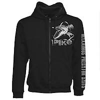 /100/% Coton Manches Longues Noir t-Shirts/ /Id/éal pour Ceux Qui Aiment Les Poissons pr/é /caract/éristiques Pike Attaquent Leurre de Motif/ Fladen P/êche/ /Hungry Pike/