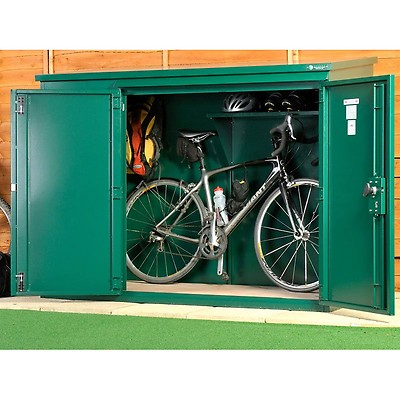 99db4716a30 7 x 3 Asgard Access Bike Store | Buy Fencing Direct