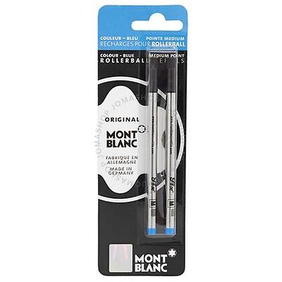 Mont Blanc Rollerball LeGrand Refills Medium Pacific Blue 105165