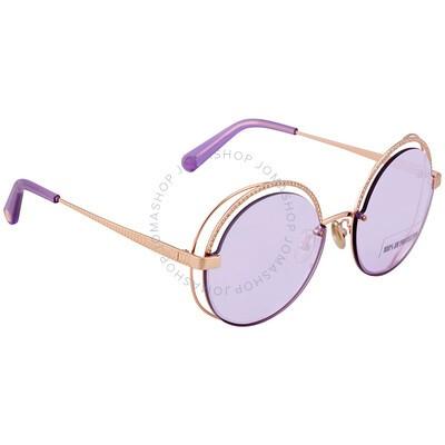 Roberto Cavalli Rimless Sunglasses RC1144 32B Gold//Gray 58mm 1144