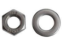 FORGEFIX FORWING5M Wing Nut ZP M5 Bag 10 Thumbscrew