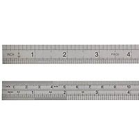 12in Fisco FSC712S 712S Stainless Steel Rule 300mm