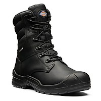 cf44e5ac37f Dickies Trenton Pro Safety Boots - Size 9 - Black - FD9218 BK 9