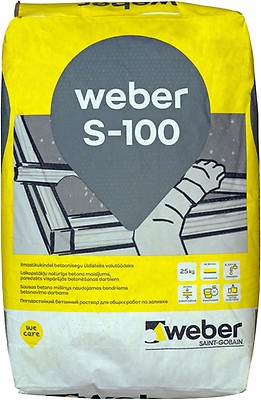 Kuivbetoon Weber S-100 25 kg