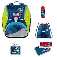 NEU Scout Sunny Red Racer Set 4-teilig Jungen Rucksack UVP 259,90