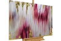 Acryl Gemälde /'LOCUS AMOENUS/'HANDGEMALTLeinwand Bilder 120x60