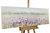 Acryl Gemälde /'KIRSCHBLÜTEN ZWEIG/'HANDGEMALTLeinwand Bilder 150x50cm