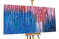 Olieverfschilderij 'De wieg van de zee' 200x100cm