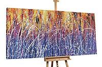 Öl Gemälde 'In de intoxicatie van gedachten' 200x100cm