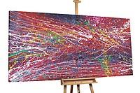 Acryl schilderen 'Onderscheidbaar' 200x100cm