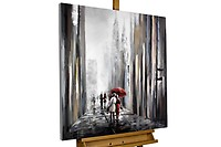 Acryl schilderen 'Met jou aan mijn zijde' 80x80cm
