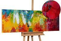 Acryl schilderen 'Bright Future' 150x50cm