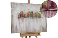 Acryl schilderen 'Buoyant Spirit' 120x80cm