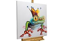 Lustige Acryl Gemälde Mit Fröschen Finden Kunstloft