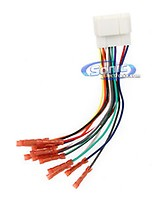 Scosche HA08B Wire Harness to Connect an Aftermarket Stereo on