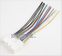 Scosche MA03B Wire Harness to Connect an Aftermarket Stereo on