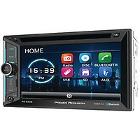 Dual XDVD136BT Single DIN Bluetooth In-Dash DVD/CD/AM/FM Car on