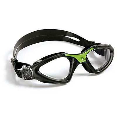 d3fcb5c0e AquaSphere Moby Kid Goggle Blue Lens | Clear/Lime | McSport Ireland