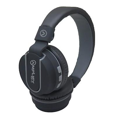 Amplify Pro Bluetooth Headphone Fusion Black-Grey 398fd7c098bb