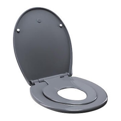 Toilet Seat Family With Baby Seat Combined Sensea Blue