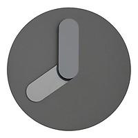 0a0c6148 Bold Veggklokke Hvit/grå - Cervera