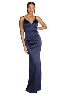63636e2c34 Jasmine Black Formal Open Back Dress