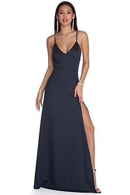 5aca521af7f Lizette Pop Of Chic Rust Formal Dress