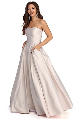 0e7421f8c08 Renee Strapless Sweetheart Ball Gown.  124.90. Josephine Formal Jewel Ball  Gown