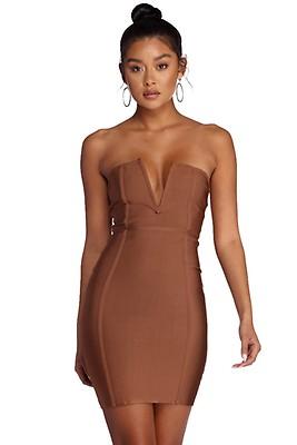be2ac2c7836 FINAL SALE- Beauty In A Bandage Dress