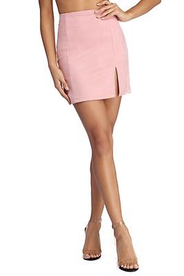 b95427e025 FINAL SALE- Fashionista Faux Suede Mini Skirt