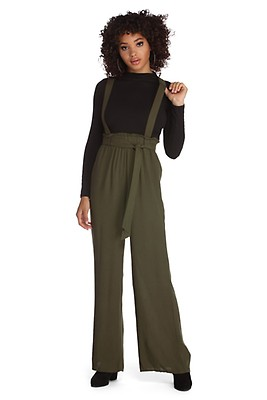 8b862669620a FINAL SALE-Black She s Boss Pinstripe Jumpsuit